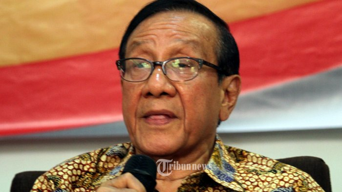Akbar Tanjung Jelaskan Alasan Setuju Panglima TNI Jadi Cawapres Dampingi Joko Widodo