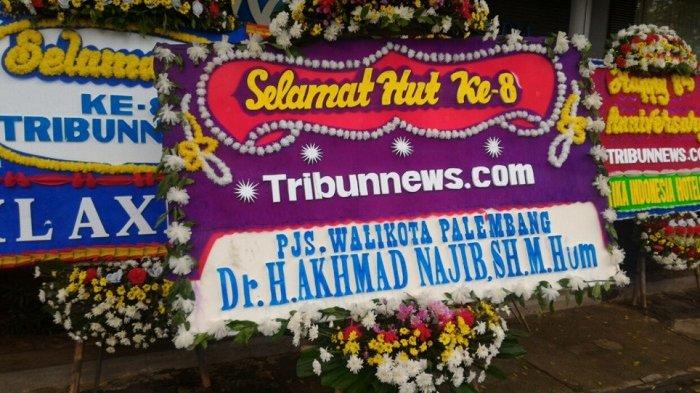 Pjs Wali Kota Palembang Akhmad Najib Ucapkan Selamat HUT ke-8 Tribunnews.com