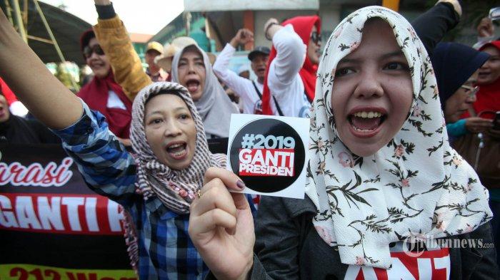 PPP: Masalah Gerakan Ganti Presiden bukan pada Tagarnya