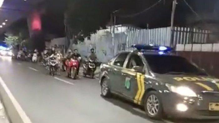 Balapan Liar di Kawasan Senayan - Sudirman, 20 Kendaraan Ditilang