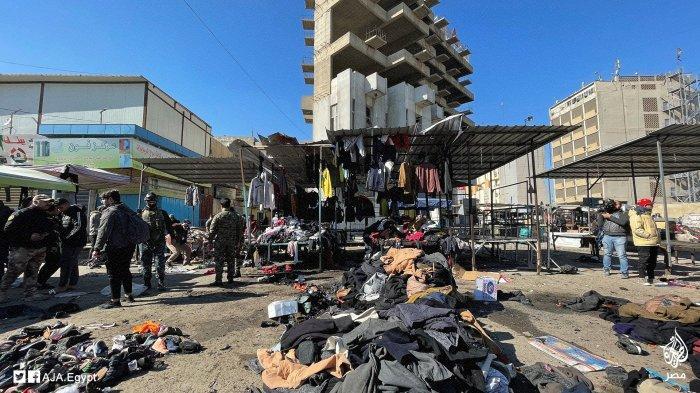 Pemboman di Irak: ISIS Akui Pihaknya Berada di Balik Serangan Bom Bunuh Diri Kembar di Baghdad