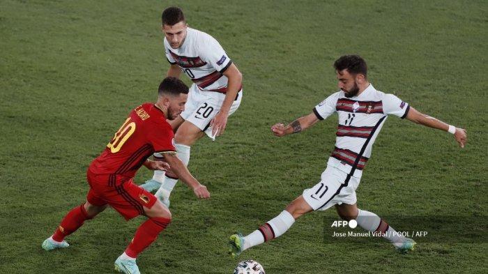 Langkah Portugal Terhenti di Euro 2021, Performa Bruno Fernandes Jadi Sorotan