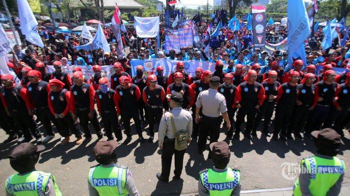 Polri Pastikan 20 Ribu Polisi yang Amankan May Day Hari Ini Tak Bawa Senjata Api