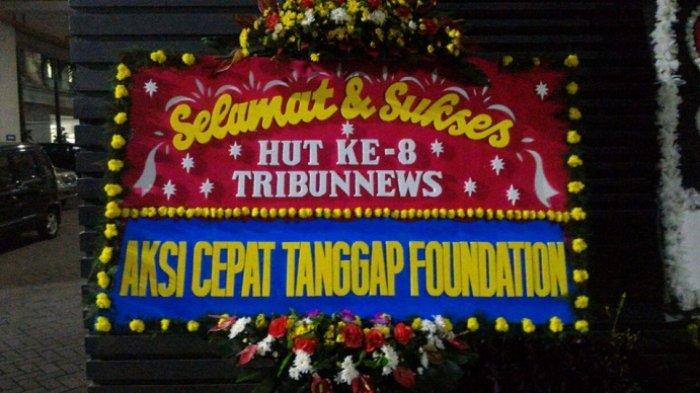 Aksi Cepat Tanggap Foundation Ucapkan Selamat HUT ke-8 Tribunnews.com