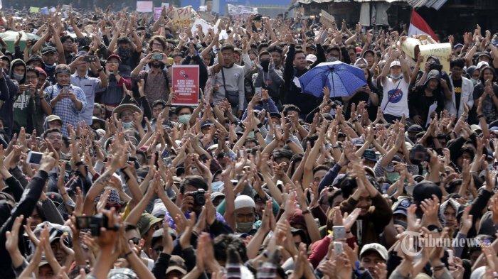 FAKTA #GejayanMemanggil Jilid 2, Diikuti Pelajar, Suarakan 9 Tuntutan, hingga Isyarat Demo Kembali
