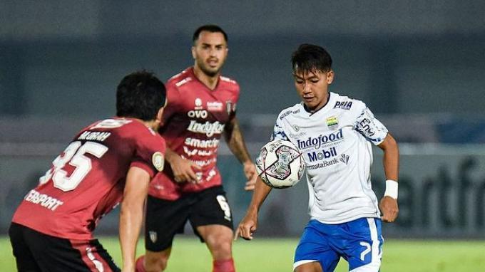 Tanggapan Beckham Putra Setelah Jadi Pemain Pertama Persib Cetak Brace ke Gawang Bali United
