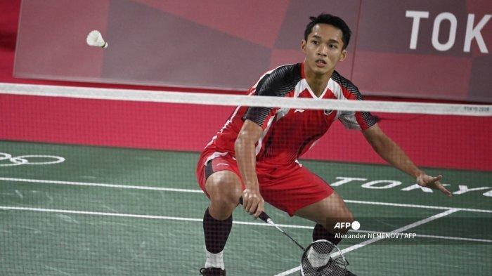 Shi Yu Qi Singkirkan Jojo, Wakil Tunggal Putra Indonesia Tersisa Ginting di 8 Besar Olimpiade 2021