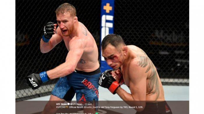 Justin Gaethje Sampaikan Prediksi UFC 256 antara Tony Ferguson vs Charles Oliveira