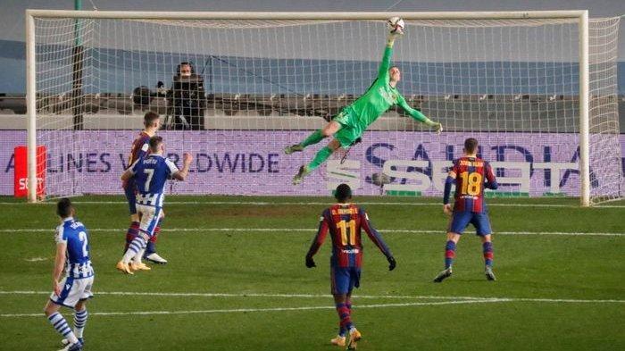 Aksi Impresif Pahlawan Barcelona di Semifinal Piala Super Spanyol