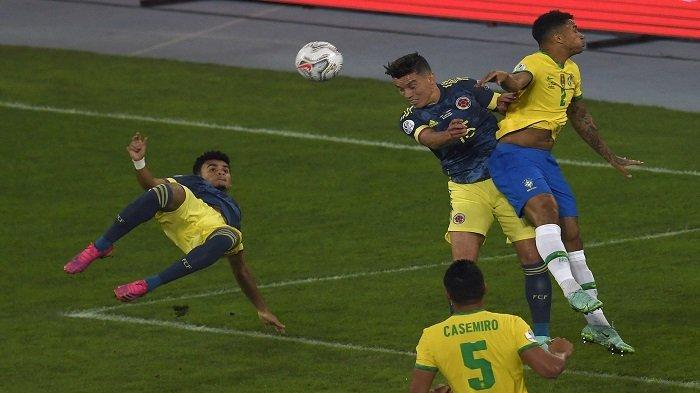 VIDEO Gol Indah Luis Diaz Sempat Bikin Timnas Brasil Ketar-ketir Sebelum Tim Selecao Unggul 2-1