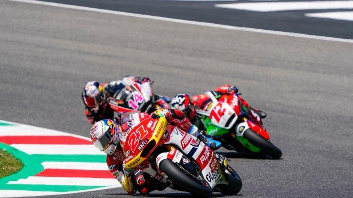 Alami Insiden di GP Italia 2021, Pebalap Federal Oil Gresini Moto2 Tak Menyerah