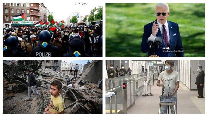 POPULER Internasional: Aksi Demo Kecam Serangan Israel | Politikus Demokrat Sindir Joe Biden