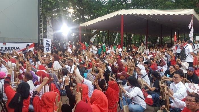 Setelah Debat, Jokowi-Maruf Dijadwalkan Temui Pendukung di Lapangan Parkit Senayan