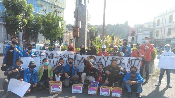 Aksi solidaritas Badan Eksekutif Mahasiswa (BEM) Nusantara