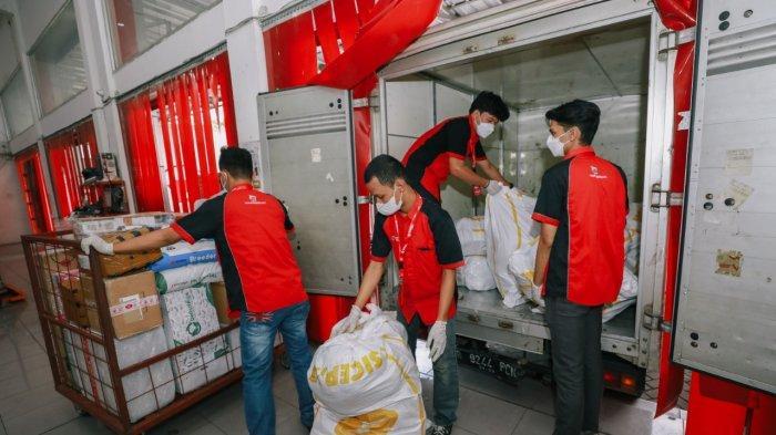 Pandemi Bikin Volume Kiriman Paket HALU Melesat 160,63 Persen