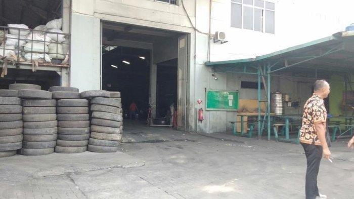 Pabriknya Terbakar, Nasib Pekerja PT Putra Sejahtera Mandiri Vulkanisir Tidak Menentu