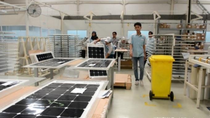 Dapat Fasilitas KITE, Ekspor Panel Surya Sky Energy Berpeluang Tambah Devisa Negara