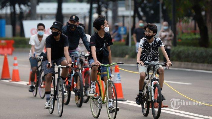 Gowes Sehat di Masa Pandemi, Amankah Pakai Masker saat Bersepeda? Ini Kata Ahli