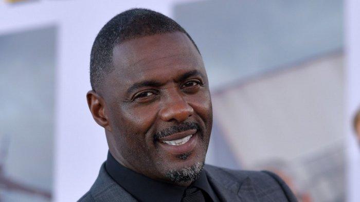 Aktor Inggris Idris Elba menghadiri pemutaran perdana dunia