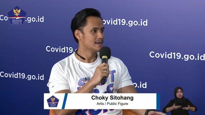 Aktor sekaligus pembawa acara televisi, Choky Sitohang
