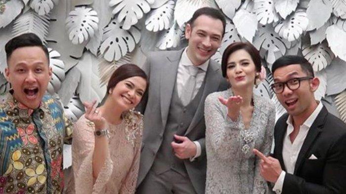Aktor Tubagus Richard Kevin resmi menikahi Cut Tari, Kamis (12/12/2019).