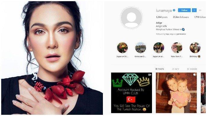 Akun Instagram Luna Maya Di-hack