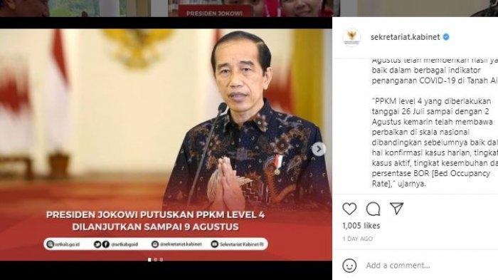 Daftar Wilayah di Luar Pulau Jawa-Bali yang Terapkan PPKM Level 4 hingga 9 Agustus Mendatang