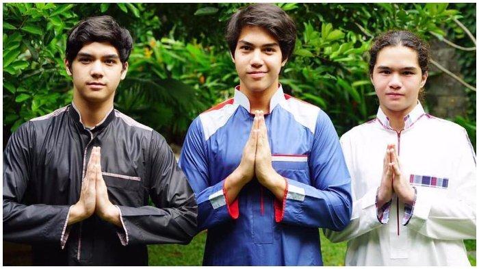 Tiga anak Ahmad Dhani dan Maia Estianty, Al El dan Dul