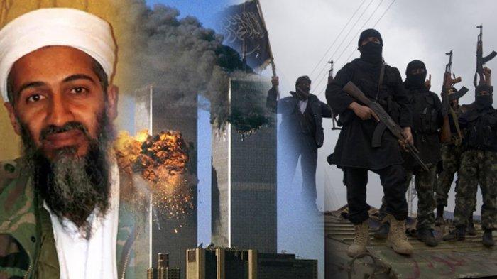 Serangan 9/11 di New York, yang dilakukan Al Qaeda. Pemerintah Amerika Serikat disebut pengamat kini justru melindungi mereka di Suriah.