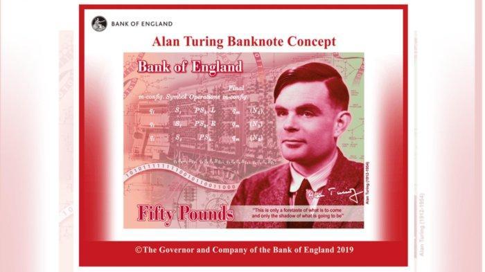 Alan Turing, Ahli Matematika Zaman PD II yang Dikebiri Kimia, Akan Dipampang di Uang Kertas Inggris