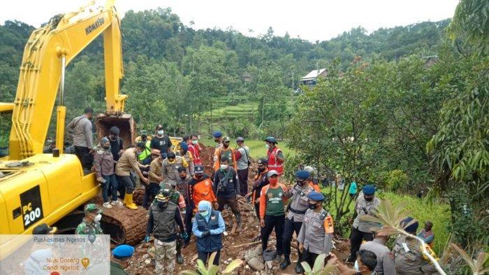 Longsor di Desa Ngetos Nganjuk: 18 Korban Meninggal Berhasil Dievakuasi, Satu Orang Masih Hilang