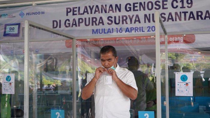 Kemenhub Resmikan GeNose Sebagai Salah Satu Persyaratan Penumpang Kapal di Pelabuhan Tanjung Perak