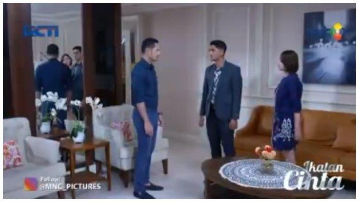 Aldebaran, Andin, dan Nino di Ikatan Cinta Rabu, 14 Juli 2021.