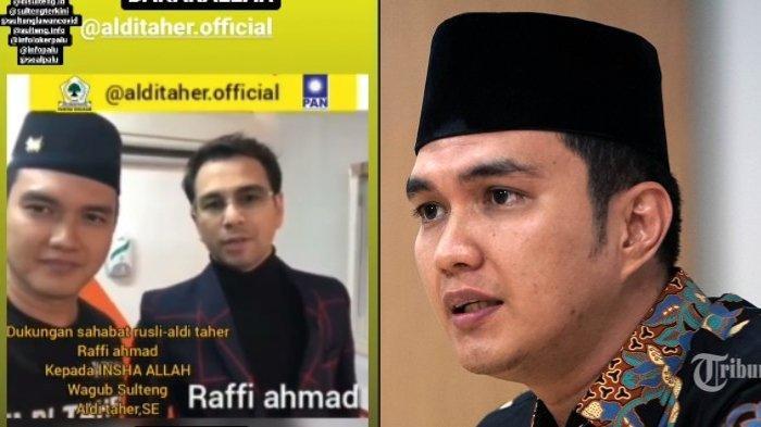 Tindakan Aldi Taher saat Kampanye, Sempat Buat Raffi Ahmad Kesal: Suara Gue Diedit, Lu Gimana Sih?