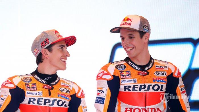 LIVE Streaming MotoGP Catalunya 2020: Marc Marquez Bongkar Kebiasaan Sang Adik, Sering Minta Bantuan