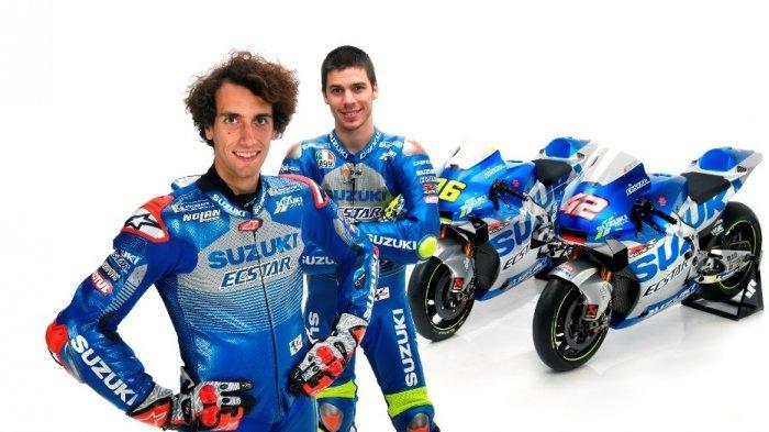 Alex Rins dan Joan Mir akan menjadi duet pebalap Team Suzuki Ecstar MotoGP musim 2020.