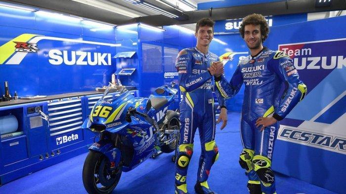 Alex Rins dan Joan Mir Penampilannya di MotoGP Belanda Bikin Kecewa Manajer Suzuki Ecstar