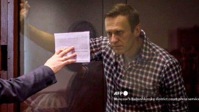 Pemimpin Oposisi Rusia Dikabarkan Sakit Parah dan Kesulitan Berjalan, Kremlin: Alexei Navalny Sehat
