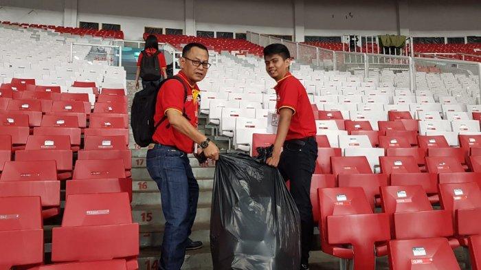 Habis Hajatan, Terbitlah Sampah Berserakan di Asian Games 2018