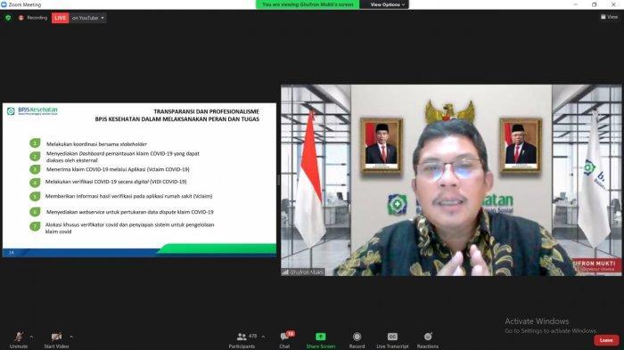 BPJS Kesehatan Dorong RS Ajukan Berkas Klaim Covid Secara Lengkap