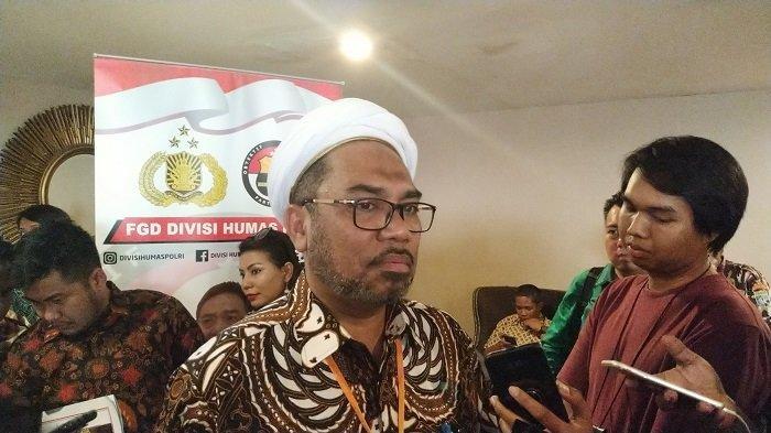 Tenaga Ahli Utama Kantor Staf Presiden Ali Mochtar Ngabalin di Hotel Cosmo Amarossa, Jakarta Selatan, Rabu (16/10/2019).