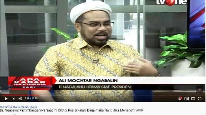 VIDEO Ali Ngabalin Tak Terima Debat di ILC TV One, Wajahnya Ditunjuk Karni Ilyas: Dia Panjang