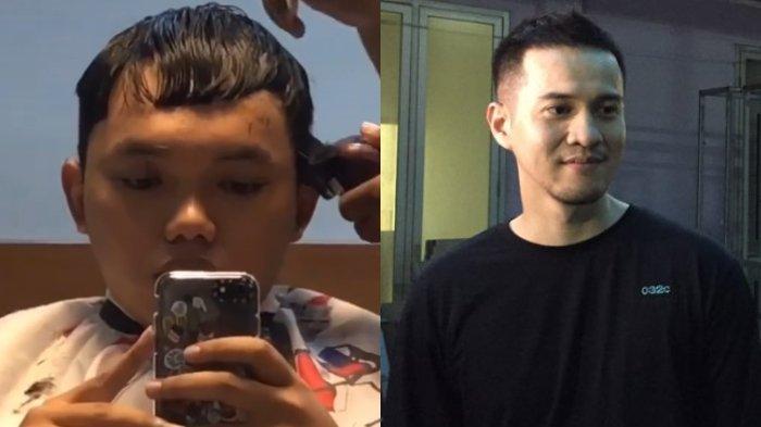 VIRAL Video Pemuda Gagal Potong Rambut Seperti Herjunot Ali, Mengaku Pasrah setelah Lihat Hasilnya