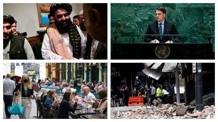 POPULER Internasional: Taliban Minta Diizinkan Pidato di Sidang Umum PBB   Gempa Bumi di Melbourne