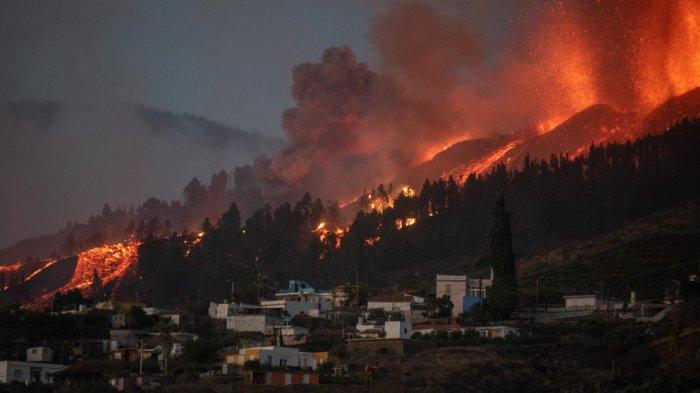 Gunung Berapi di La Palma Spanyol Kembali Erupsi, Penerbangan Dibatalkan hingga Risiko Gas Beracun