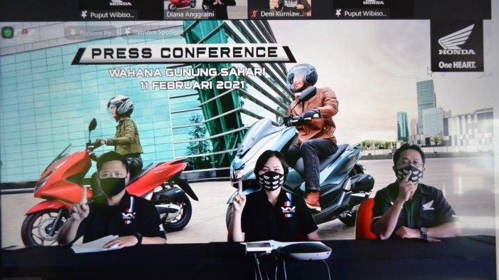 Dealer Honda Wahana Makmur Resmi Jual PCX 160, Konsumen Bisa Beli via Online