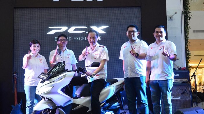 All New Honda PCX 150 Mengaspal di Jawa Barat