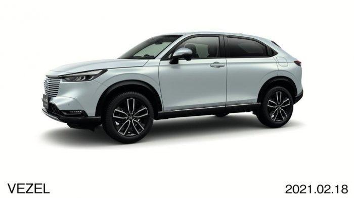 Honda HR-V Terbaru Mengaspal dengan Mesin Hybrid