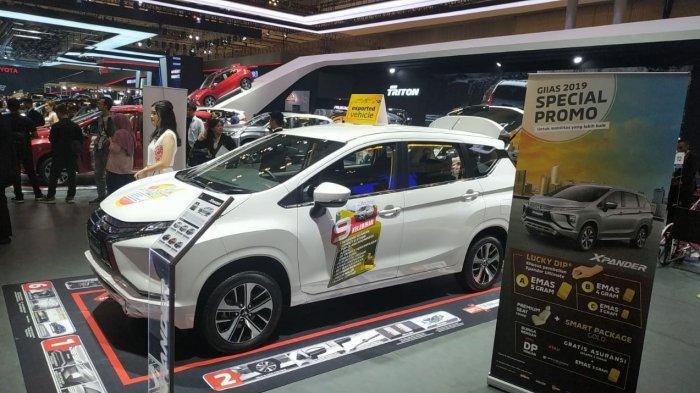 Tembus 4.055 Unit, SPK Mobil Mitsubishi di GIIAS 2019 Lampau Target