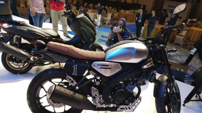 All New XSR 155 saat dilaunching